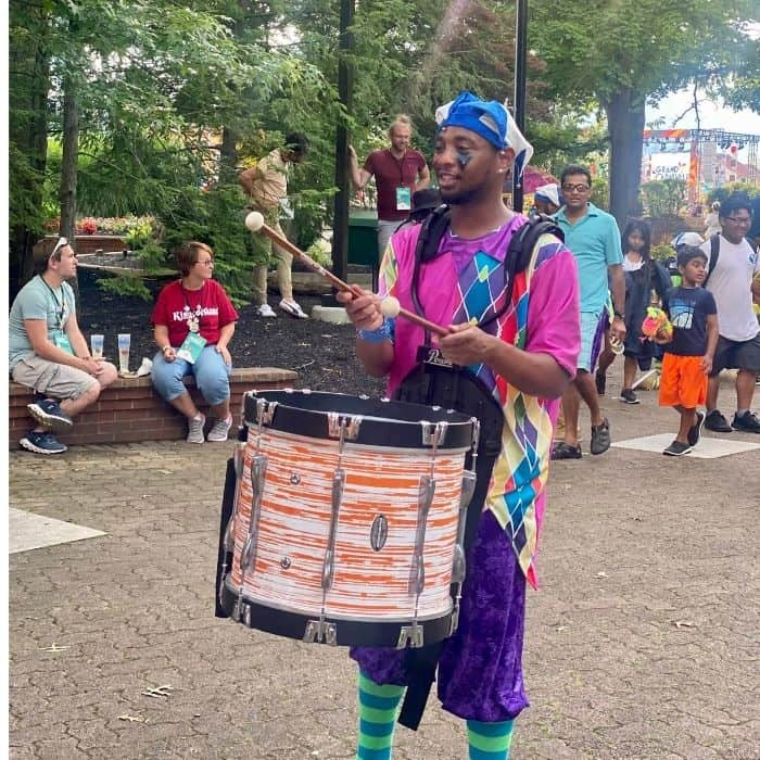 drum line-grand-carnivale-kings-island