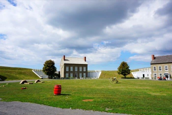 Fort Ontario State Historic Site Oswego New York