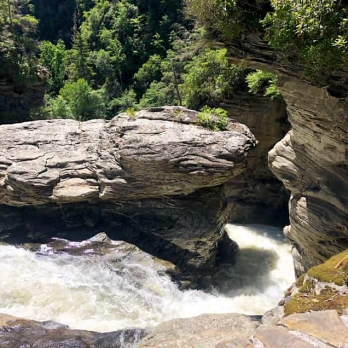 Linville Falls in North Carolina