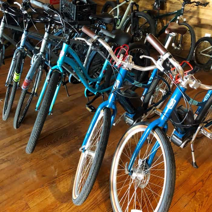 Overmountain Cycles bike rentals