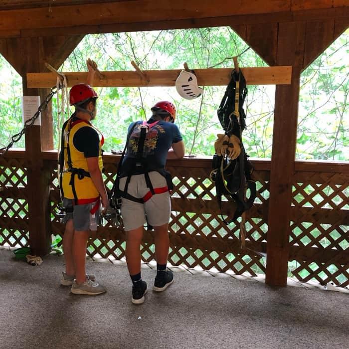 Zipline at Cliffview Resort