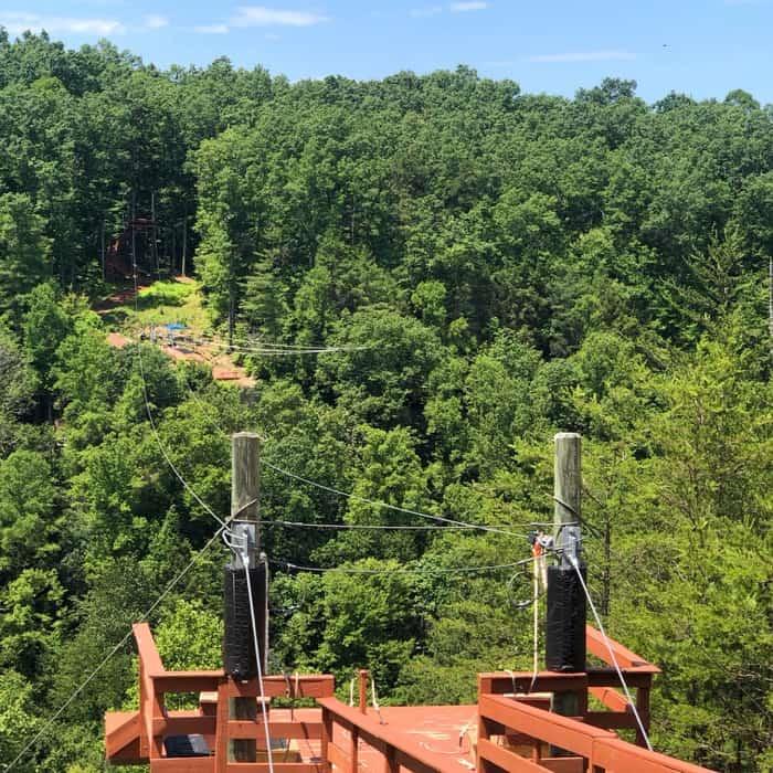Red River Gorge Zipline in Kentucky