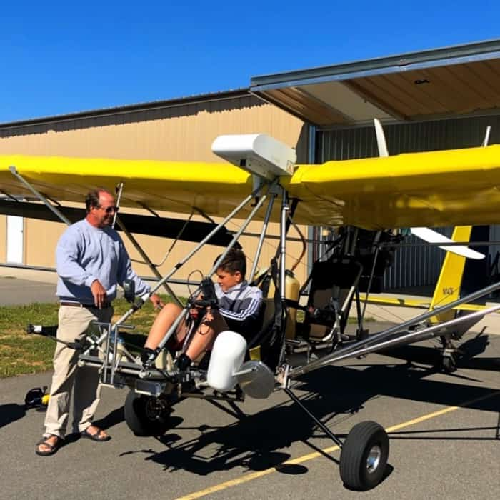 aero-tow Thermal Valley Hang Gliding