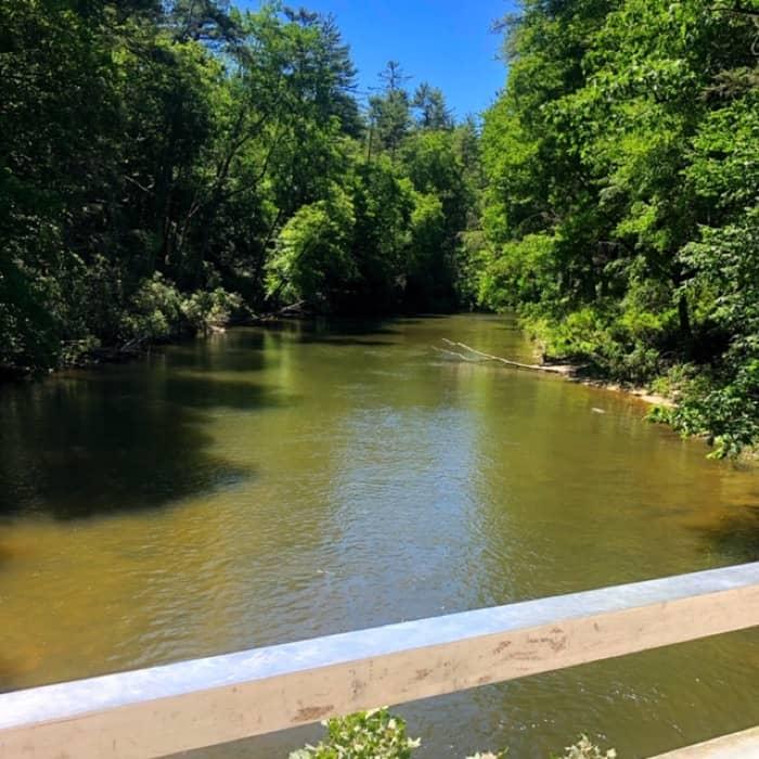 creek near Linville Falls