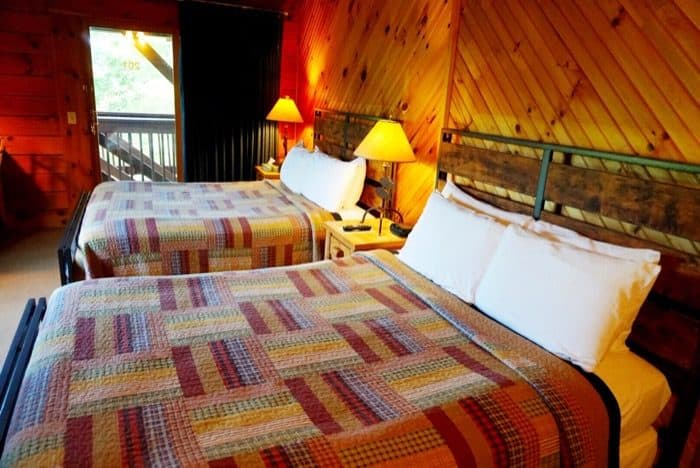 Guest Rooms at The Lodge at Cliffview Resort