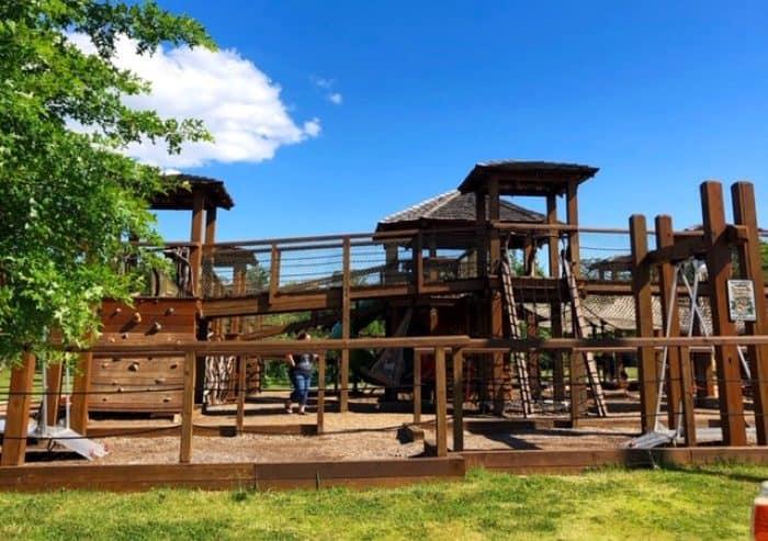 playground at Catawba Meadows Park