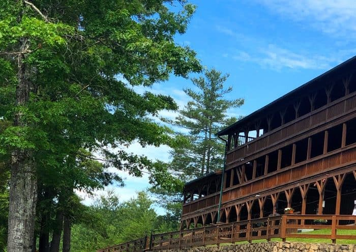 the Lodge at Red River Gorge