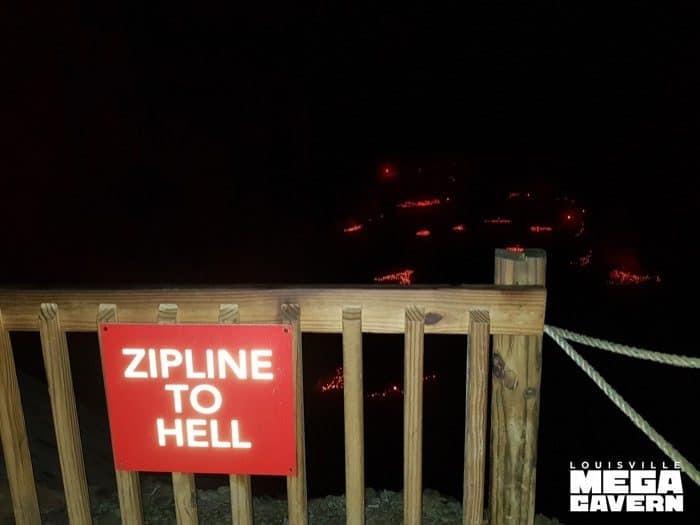 Zipline Underground at Louisville Mega Cavern