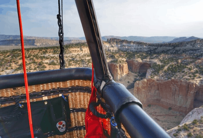 Hot Air Balloon Ride with X-Treme-Lee Fun Balloon Adventures at Red Rock Park