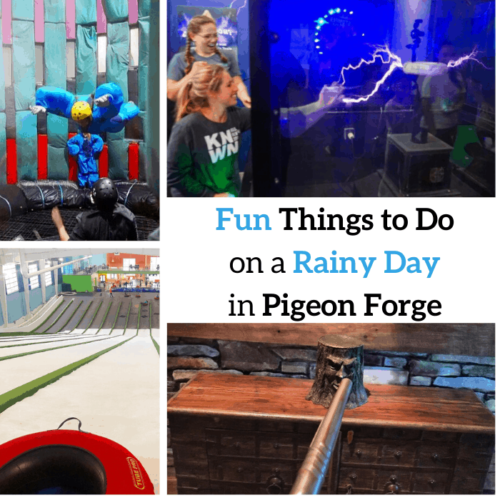 Fun Things to Do on a Rainy Day in Pigeon Forge