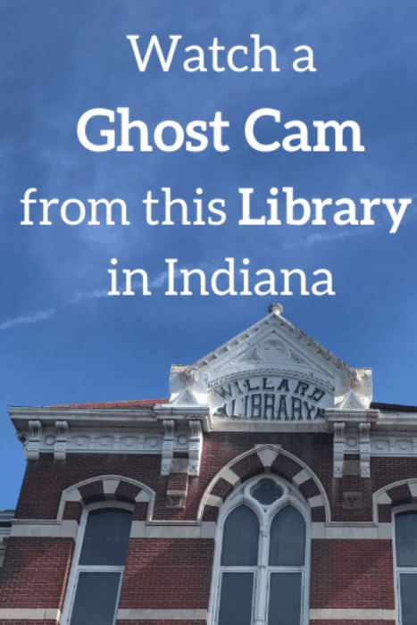 Watch a Ghost Cam from this Library in Indiana