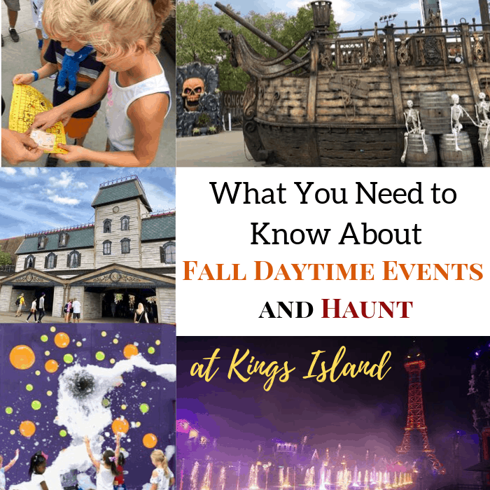 What You Need to Know About Fall Daytime Events and Haunt at Kings Island