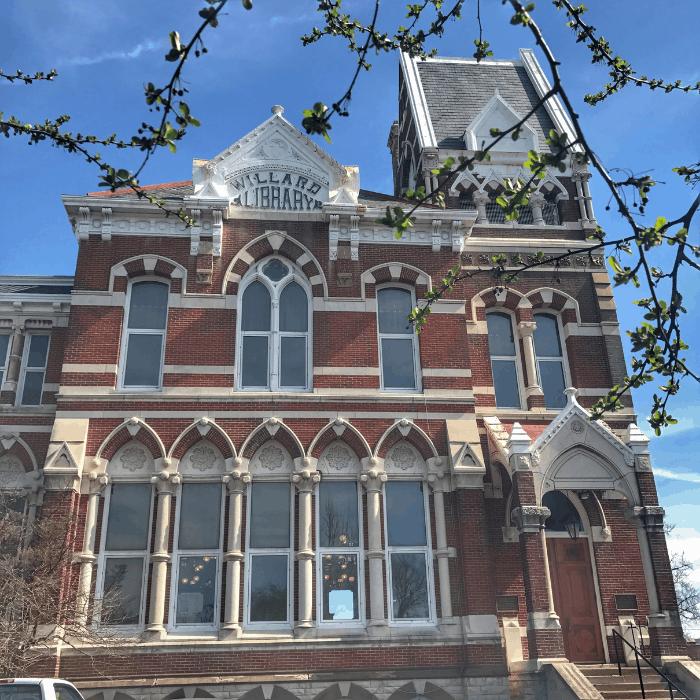 Willard Library in Evansville Indiana