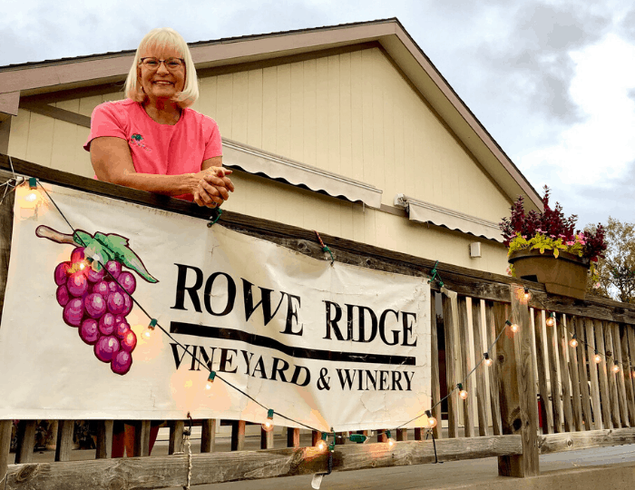 Rowe Ridge Vineyard & Winery in Kansas City Kansas