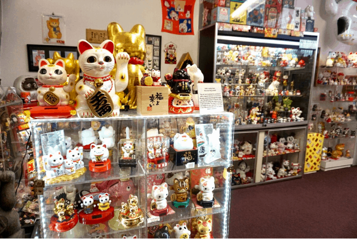 Lucky Cat Museum in Cincinnati