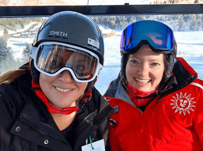 private ski lesson with instructor at  Snowbasin Resort in Utah