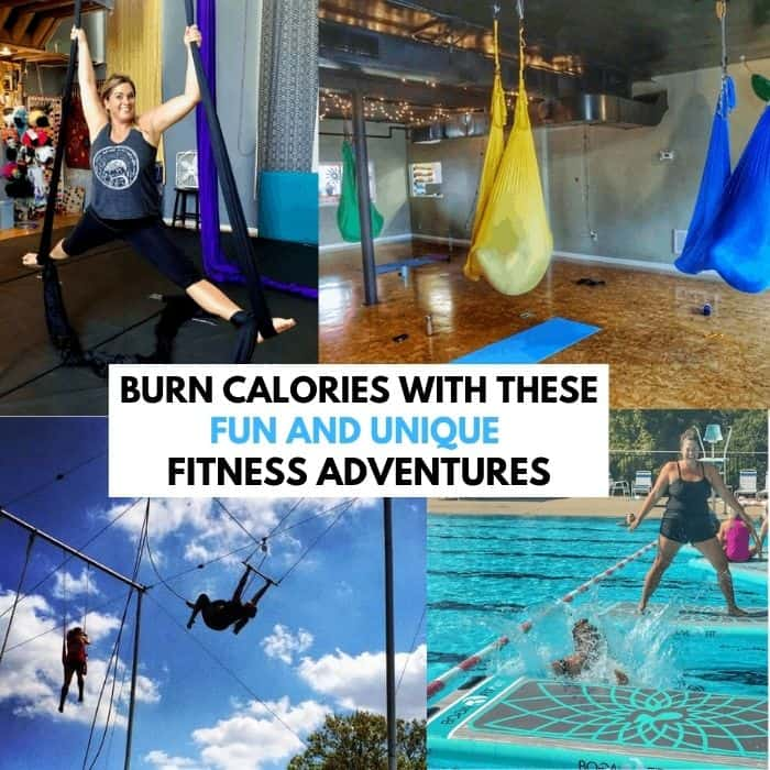 Burn Calories With These FUN and Unique Fitness Adventures