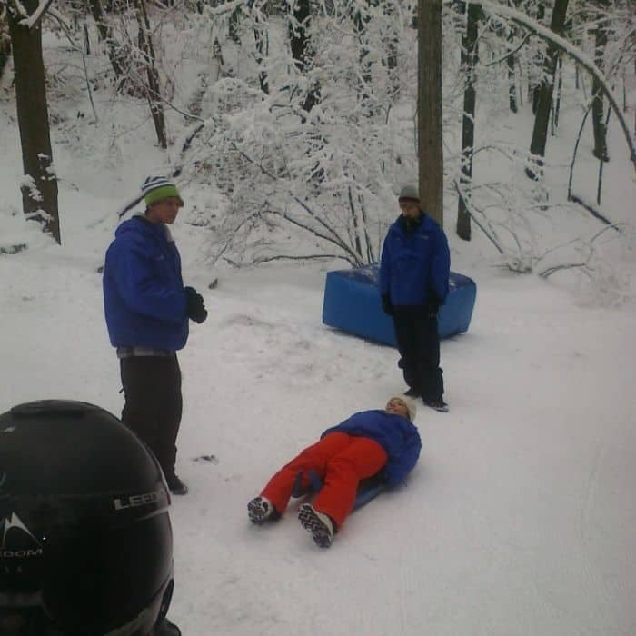 Learn to Luge instruction at Muskegon Luge Adventure Sports Park