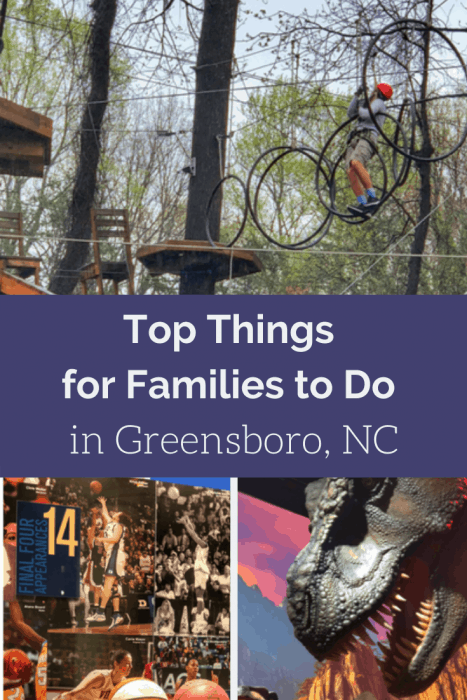 Top Things for Families to Do in Greensboro