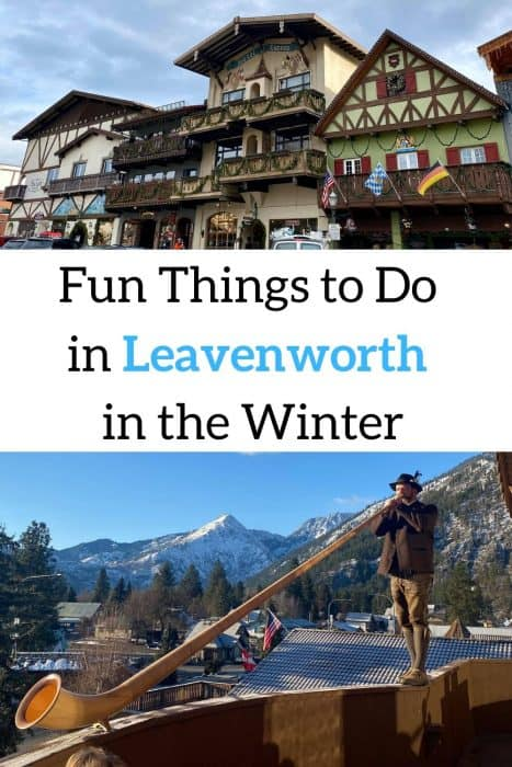 Fun Things to do in Leavenworth in the Winter