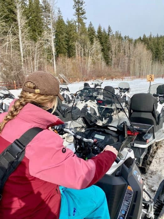 Guided Tour with Leavenworth Snowmobile Tours