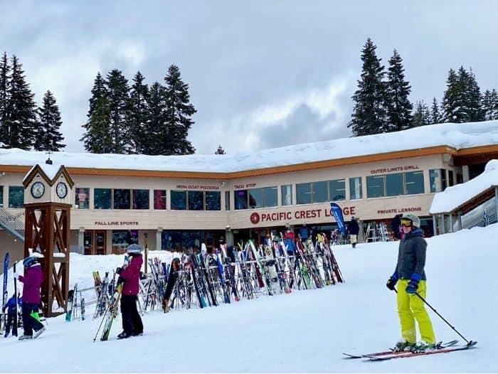 Lodge at Steven Pass ski resort