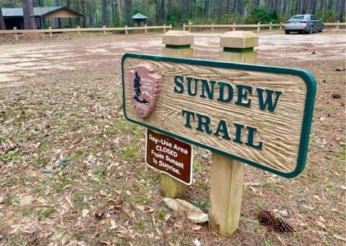 Sundew Trail at Big Thicket National Preserve in Texas