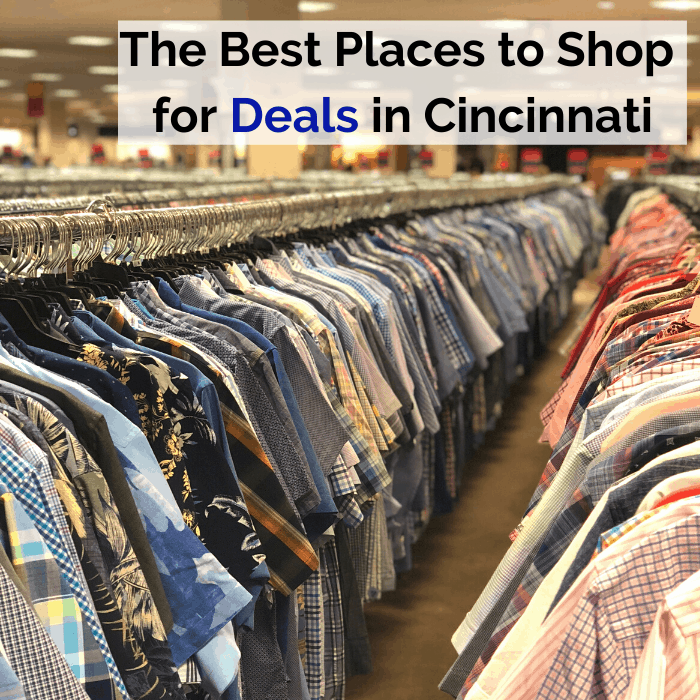 The Best Places to Shop for Deals in Cincinnati