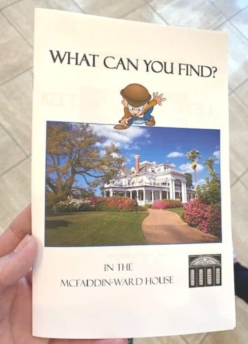activity for kids The McFaddin-Ward House Historic Museum in Beaumont