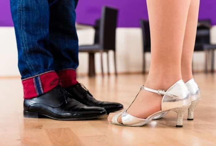 couples dance lesson