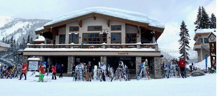 lessons at Steven Pass ski resort in Washington State
