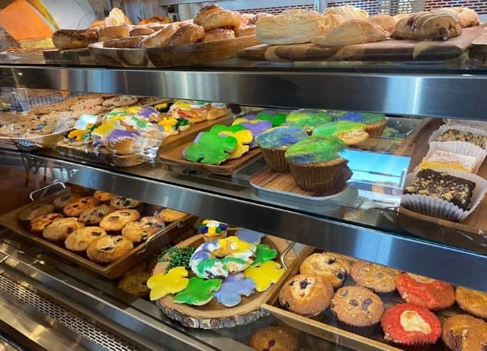 pastries at Rao's Bakery in Beaumont Texas