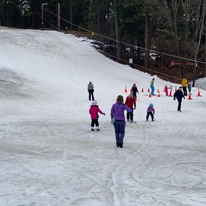 ski hill at the Leavenworth Ski Hill