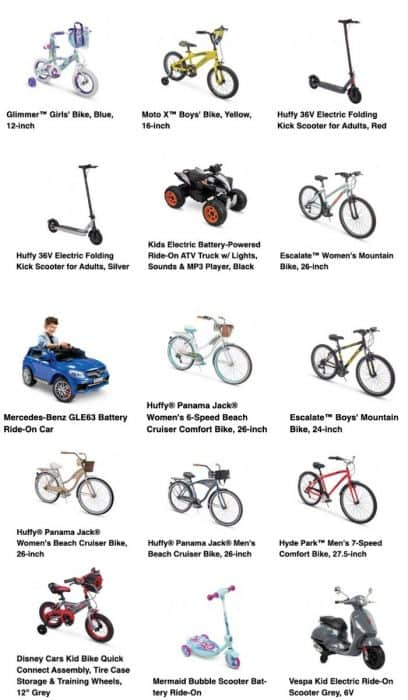 Adventure Mom Discount on Huffy Bikes