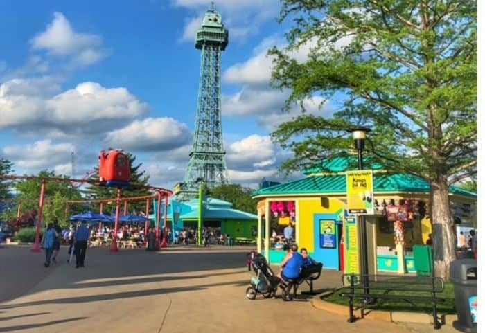 Planet Snoopy at Kings Island Amusement Park