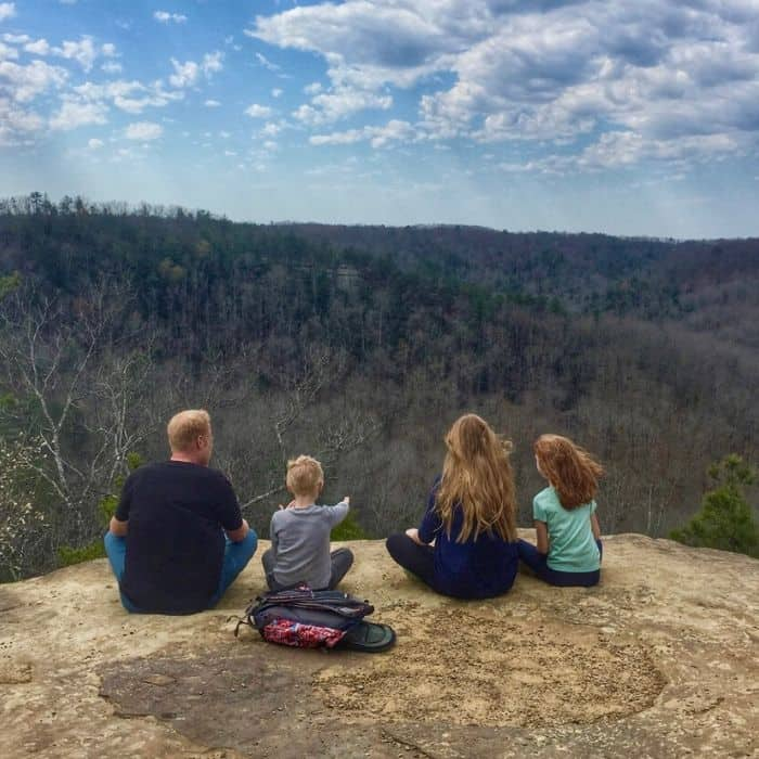 Red River Gorge in Kentucky