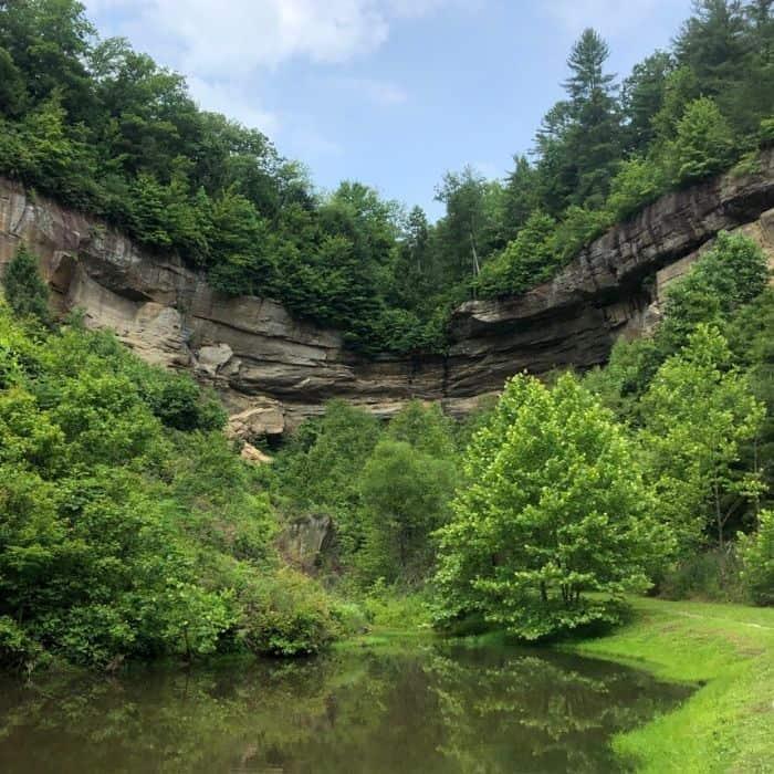 via ferrata Southeast Mountain Guides Red River Gorge Kentucky