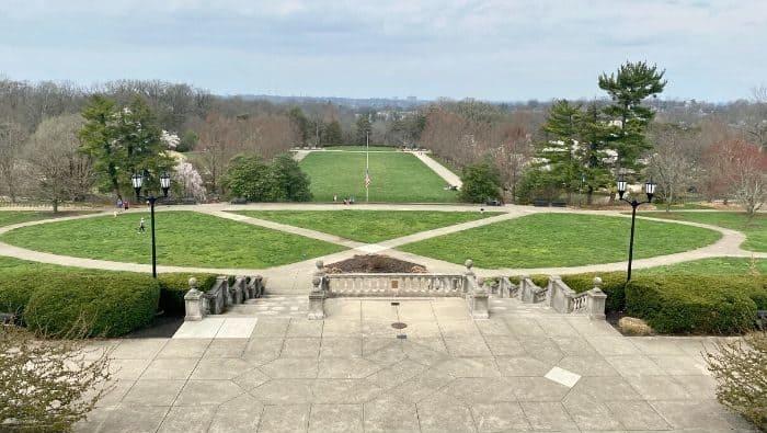 Pavilion at Ault Park in Cincinnati