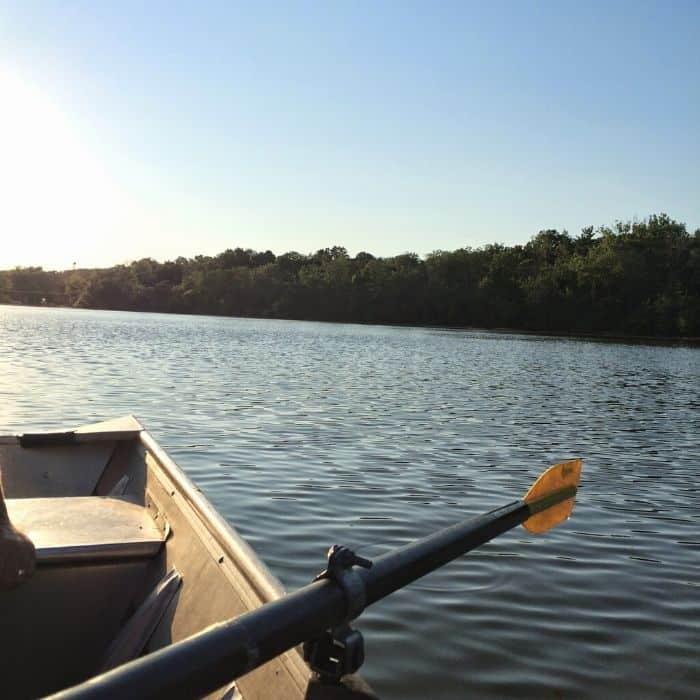 Boat rental at Winton Woods