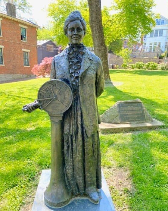 Captain Mary B. Greene Statue from Riverwalk Statue Tour