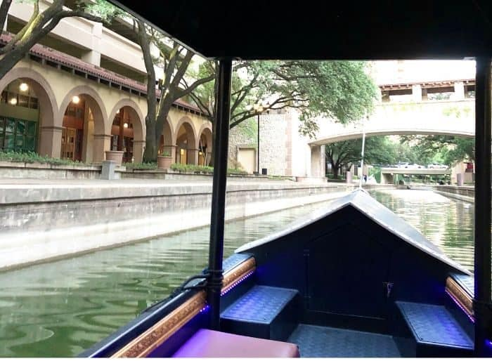 Gondola ride in Las Colinas Texas