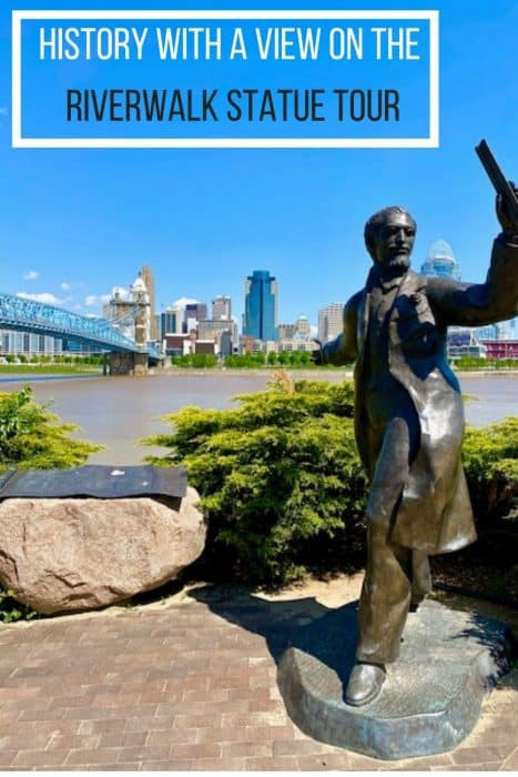 History With a View on the Riverwalk Statue Tour