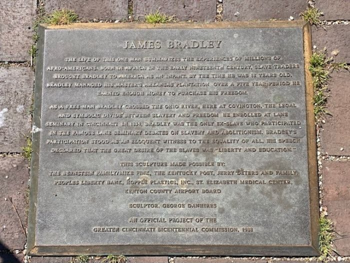 James Bradley Riverwalk Statue Tour