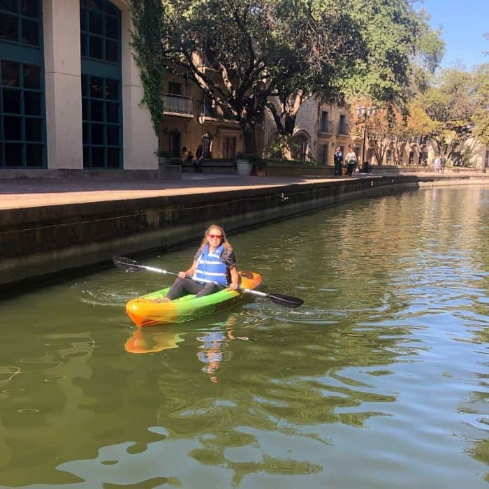 Kayaking in Las Colinas