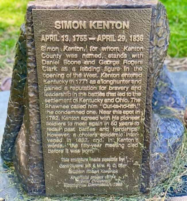 Simon Kenton Statue Riverwalk Statue Tour