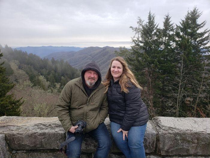 Tonya Prater and her husband