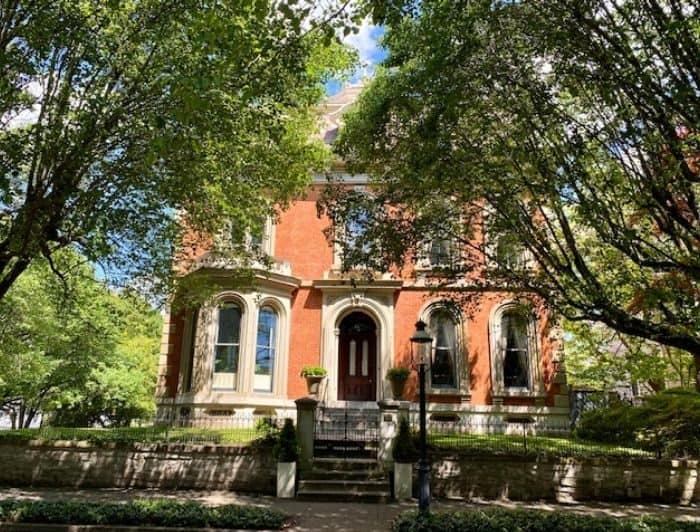 home in the Licking Historic Riverside District in Covington Kentucky