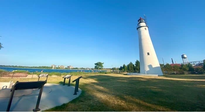 Lighthouse Park in Port Huron Michigan