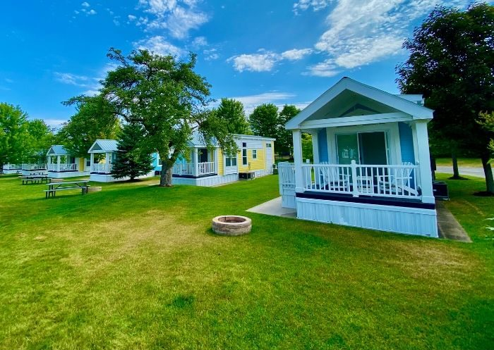 Premium Cottages at Petoskey RV Resort