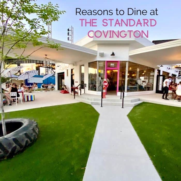 Reasons to dine at The Standard Covington